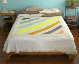 Salida del Sol Throw in Manos del Uruguay Clasica Wool Semi-Solid - 2012Q