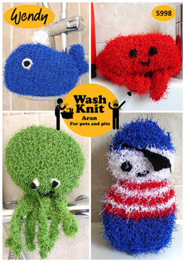 Bathtime Sponges in Wendy Wash Knit - 5998