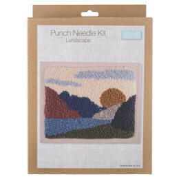 Trimits Punch Needle Kit: Landscape - 20.32 x 25.4cm (8 x 10in)