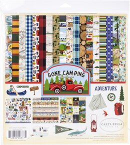 "Echo Park Paper Carta Bella Collection Kit 12""X12"" - Gone Camping"