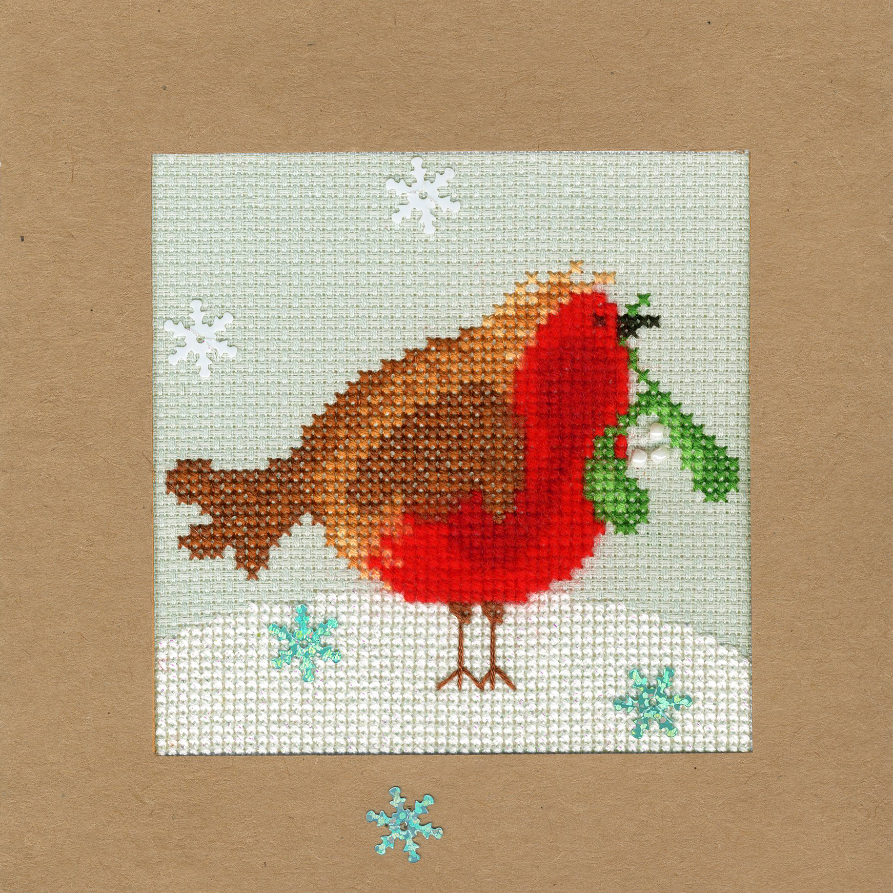 Bothy Threads Cross Stitch Kit Christmas Scarves