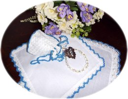 Wedding Reticule and Hankies Set