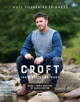 Mack Crew Neck Sweater in West Yorkshire Spinners The Croft DK - DBP0047 - Downloadable PDF