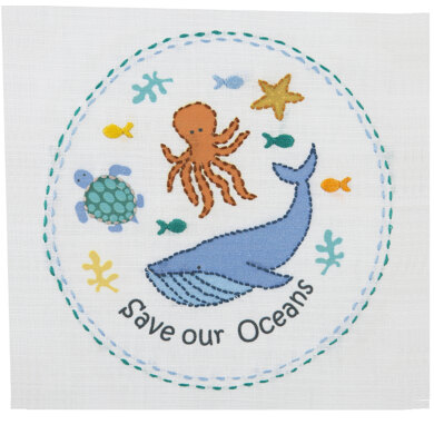 AnchorFreestyle: Save our Oceans EmbroideryKit