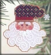 Mill Hill Father Frost Beaded Cross Stitch Kit - Multi