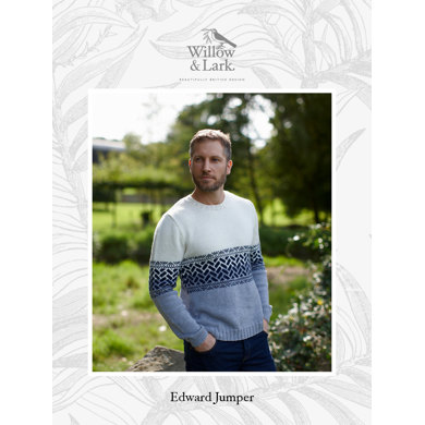 Edward Jumper in Willow & Lark Ramble