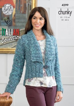 Jacket and Top in King Cole Verona Chunky - 4299 - Leaflet