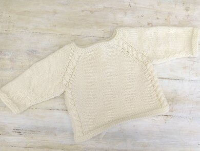 Top Down Touch Of Cable Pullover
