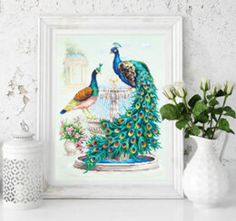 Magic Needle Peacocks Cross Stitch Kit