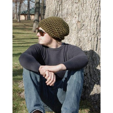 Brimless Chunky Slouchy Beanie Crochet Pattern By Michele C