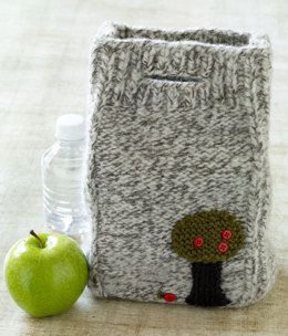 Felted Lunch Bag in Lion Brand Vanna's Choice - L0618