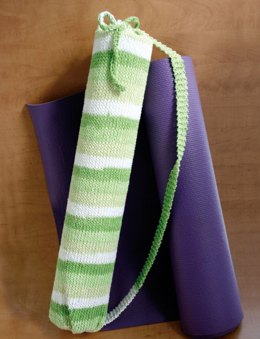 Stripes Yoga Bag in Lily Sugar 'n Cream Stripes