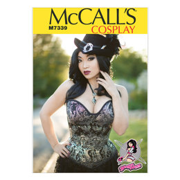 McCall's Misses' Overbust or Underbust Corsets by Yaya Han M7339 - Sewing Pattern