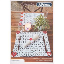 Mats in Patons 100% Cotton DK - Leaflet