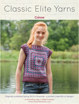 Canoe Top in Classic Elite Yarns Classic Silk - Downloadable PDF