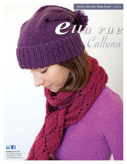 Tumut Hat & Taree Scarf Set in Ella Rae Calluna - ER02-04 - Downloadable PDF
