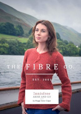Arise and Go Jumper in The Fibre Co. Arranmore - Downloadable PDF