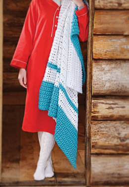 Cabin Fever Blanket Crochet in Spud & Chloe Outer - Downloadable PDF