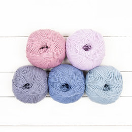 MillaMia Naturally Soft Merino 5 Ball Color Pack Designer Picks