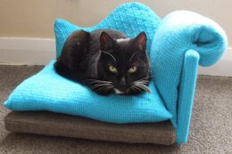 Cat Bed Chaise Longue