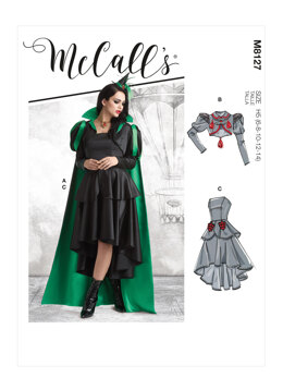 McCall's Misses' Costume M8127 - Sewing Pattern