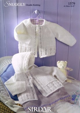 Matinee Coats in Sirdar Snuggly DK - 1579