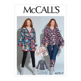 McCall's Misses'/Women's Jackets M7817 - Sewing Pattern