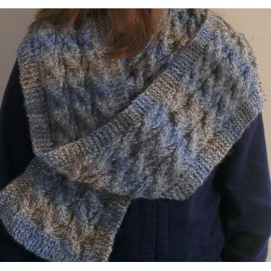 Aspect Cable Scarf
