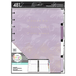 The Happy Planner Girl With Goals Classic Extension Pack