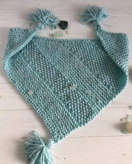 Sea Silver shawl Toddler and Child