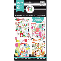 Me & My Big Ideas Happy Planner Sticker Value Pack - Seasonal - Classic, 1557/Pkg