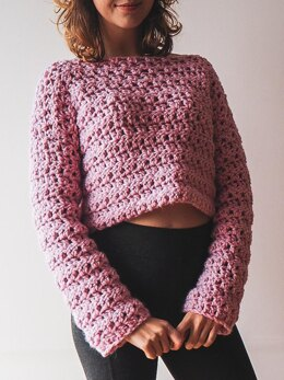 Candy Cropped Jumper