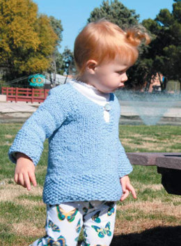 Child's Tunic in Classic Elite Yarns Verde Collection Sprout