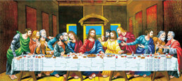 Needleart World The Last Supper No-Count Cross Stitch Kit - 91cm x 41cm