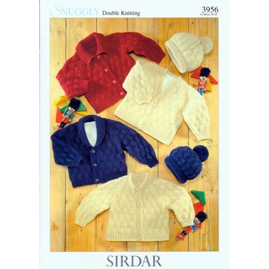 Cardigans and Hat in Sirdar Snuggly DK - 3956