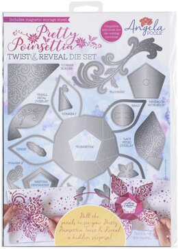 Angela Poole Designs Angela Poole Twist & Reveal Die Set - Pretty Poinsettia