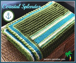 Coastal Splendor Blanket PDF12-127