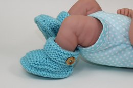 Just For Preemies - One Button Booties