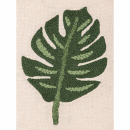 Anchor Monstera Leaf Punch Needle Kit