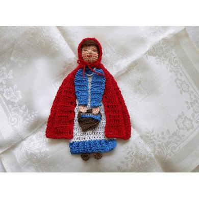 LoisLeigh's Story Time Little Red Riding Hood Bookmark