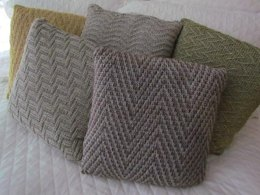 Chevron Study Pillow Collection #5