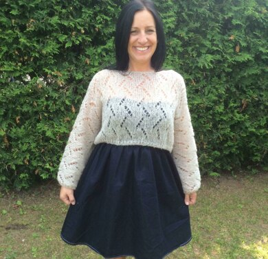 YSA cropped sweater