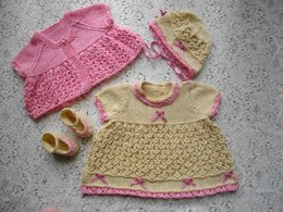 39. Baby Dress & Jacket Set