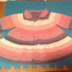 f6792e39c Baby + Toddler Tiered Coat and Jacket Knitting pattern by Lisa ...
