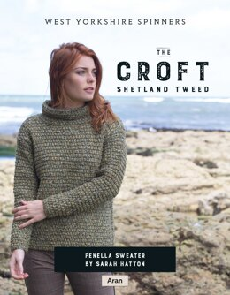 Fenella Sweater in West Yorkshire Spinners The Croft Shetland Tweed - DBP0059 - Downloadable PDF