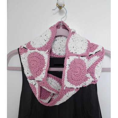 Little Dots, Big Dots Infinity Scarf