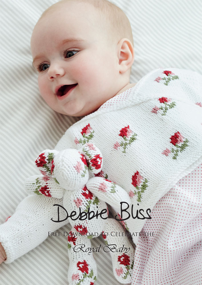 9a89469ae824 Rosebud Crossover in Debbie Bliss Eco Baby Free