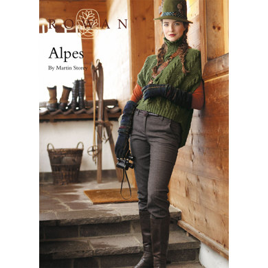Alpes Collared Cape in Rowan Kid Classic
