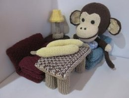 Banana for Knitkinz Monkey