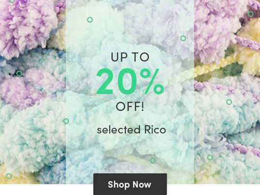 Up to 20 percent off selected Rico